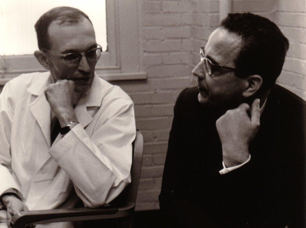 1962 mit Prof. Niedermeyer